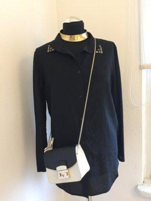 Bluse neu H&M mit Besatz am Kragen