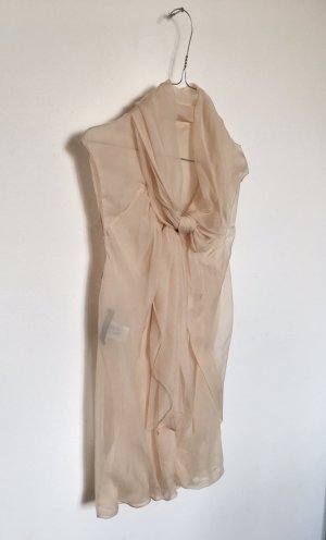 Bluse nude Alberta Ferretti (100% Seide)