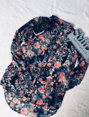 Blusa multicolore