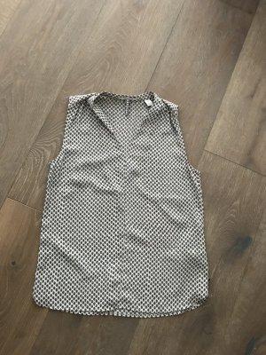 Bluse ohne Ärmel