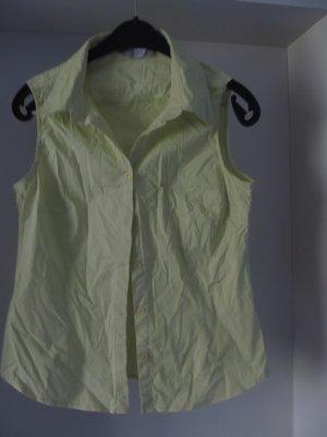 Bluse ohne Arm pistazie Gr. L