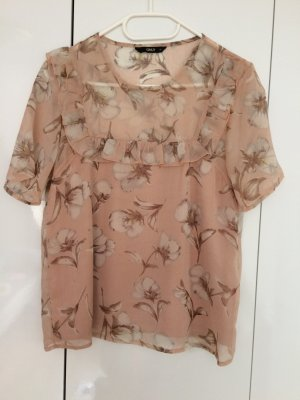 Bluse Only Gr. S in Rosé/Nude