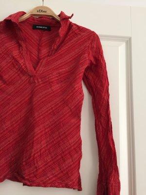 Bluse ONLY, Gr. S, neuwertig, rot Streifen, rot-weiß