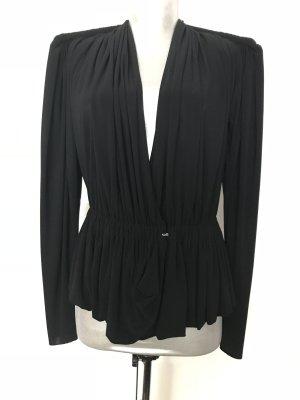 Bluse, original LANVIN, außergewöhnlich! schwarz, Gr 36