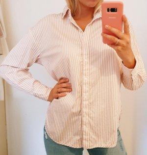 Bluse oversized rosa