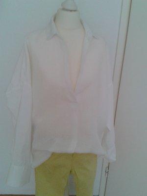 Zara Blouse oversized blanc
