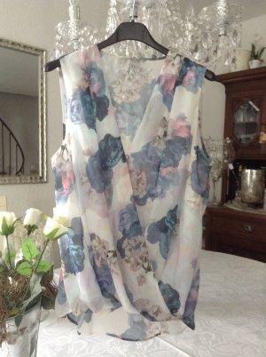 Bluse / pastellfarben / Gr. 38 / H&M