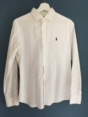 Bluse Polo Ralph Lauren weiß Größe 12 (entspricht Größe 42)
