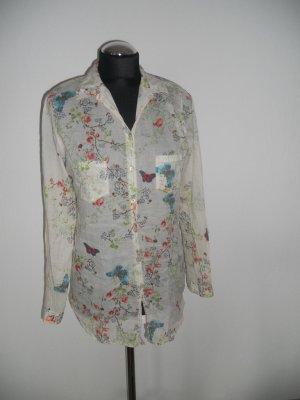 Bluse Promod Blumenmuster Gr. M