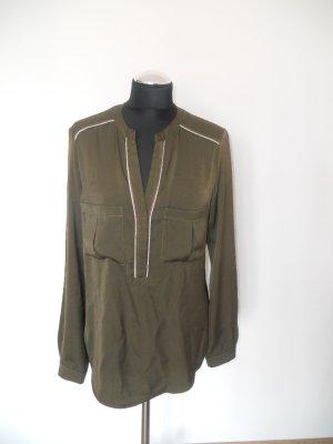 Bluse promod khaki Gr. M