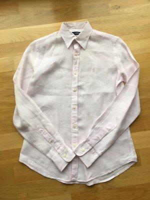 Ralph Lauren Blusa de lino rosa claro