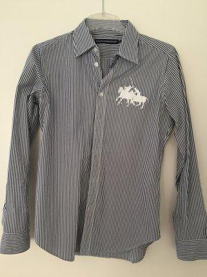 Bluse Ralph Lauren US Größe 8 (38) Dunkelblau Weiß Gestreift