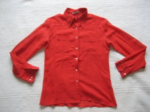 bluse red vintag gr. s 36 topzustand