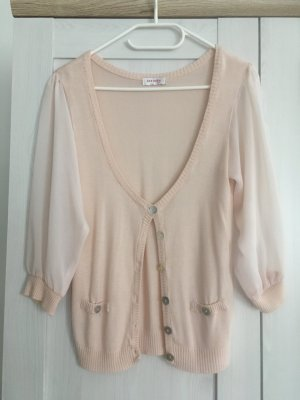 Orsay Transparent Blouse light pink polyester