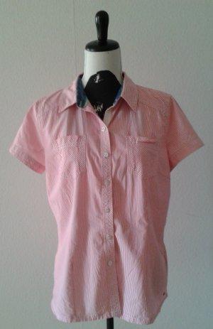 Bluse, rosa gestreift, Gr.L