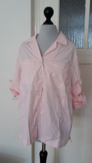 Colletto camicia rosa pallido-rosa chiaro