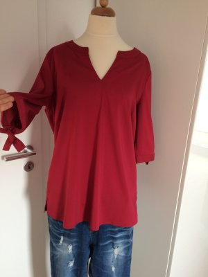 Bluse rot Comma mit Schleife