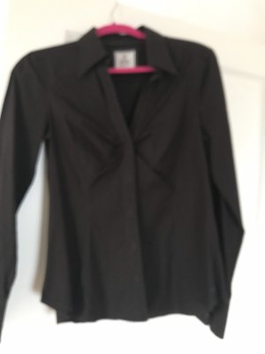 de.corp by Esprit Long Sleeve Blouse dark brown
