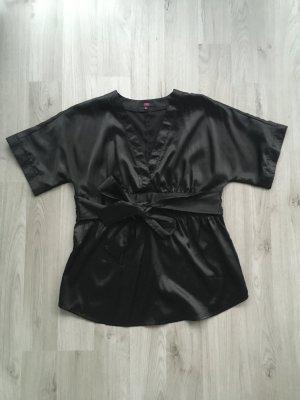 Kimono blouse zwart Polyester