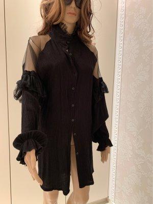 Bluse schwarz gr 38 dehnbar
