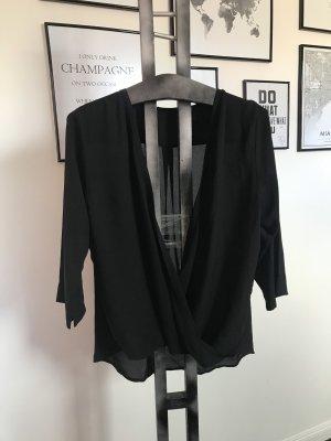 Bluse Schwarz Gr 40