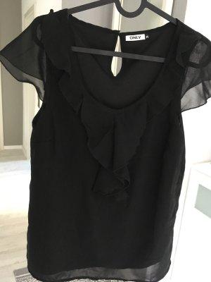 Bluse schwarz Only