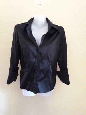 Bluse schwarz taillierte Gr.36 von Clockhouse