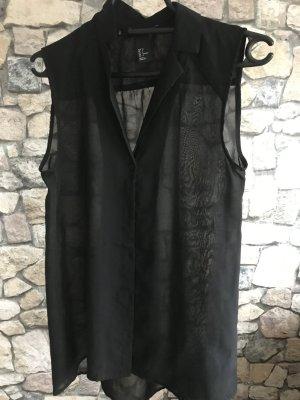 Bluse Schwarz von H&M Größe S