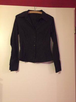 Bluse schwarz von Hallhuber
