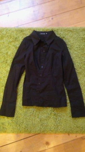 Bluse schwarz von Jennifer Taylor Größe 36