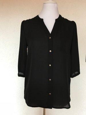Bluse schwarz von Zalando Gr. S