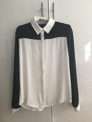 Bluse schwarz weiß | 34