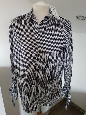 Bluse schwarz/weiß