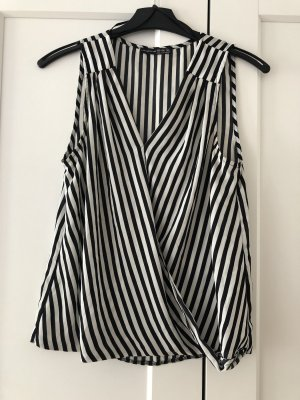 Atmosphere Blusa de manga corta negro-blanco