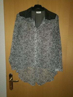 Bluse  schwarz weiß gr.40