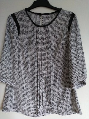 Bluse schwarz-weiß von Orsay, neu