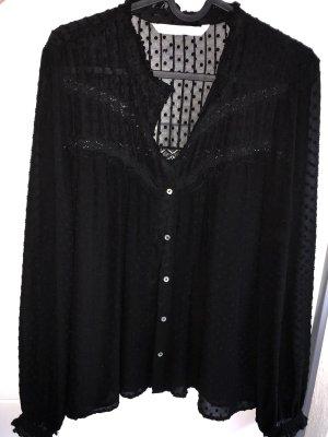 Zara Lace Blouse black