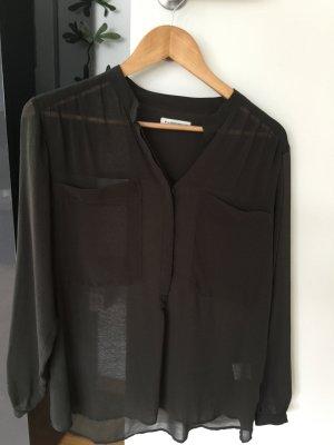 Bluse Second Female dunkelgrün XS