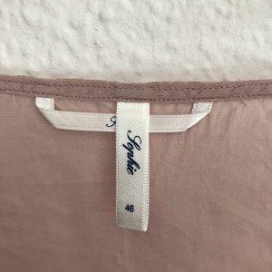 Sophie Zijden blouse roségoud