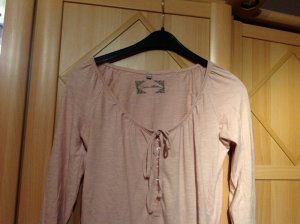 3 Suisses Shirt Tunic cream-dusky pink