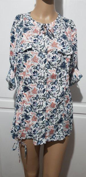 bluse shirt blumen print flores muster