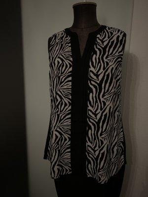 Viventy Blouse longue noir-blanc