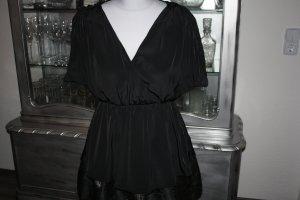 Bluse Shirt Chiffon H&M 34 schwarz