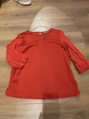 Jake*s Blouse brillante rouge-rouge brique