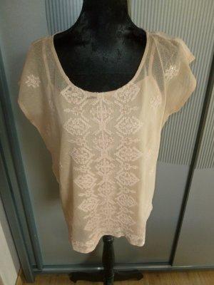 Bluse Shirt nude Promod