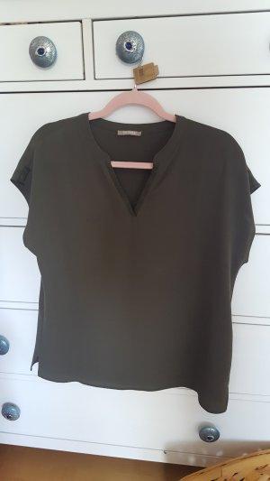 Bluse Shirt Oberteil Khaki