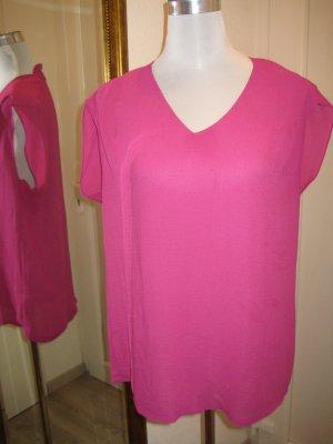 Promod Blusa tipo kimono rosa