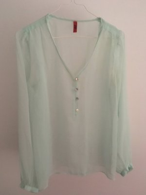 QS by s.Oliver Blouse transparente turquoise
