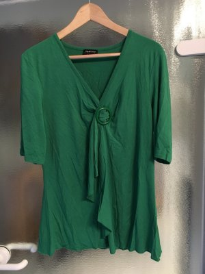 Taifun Camisa tipo túnica verde