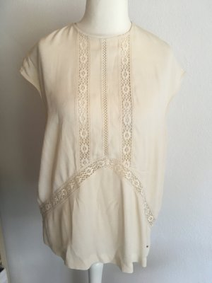 Bluse Shirt Tunika locker creme Tommy Hilfiger Gr. XL